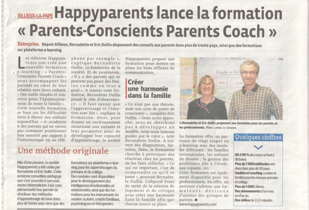 Parents Conscients Parents Coachs par HAPPYPARENTS