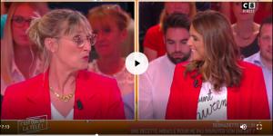 """Bernadette Dullin et Valérie Bénaïm dans """"Cest que de la télé!"""""""
