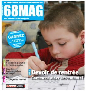 68 Mag le temps des devoirs couverture