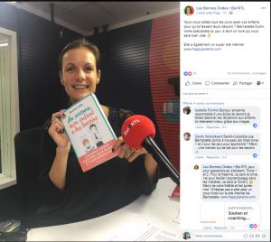 RTL Belgique Les bonnes ondes Bernadette Dullin