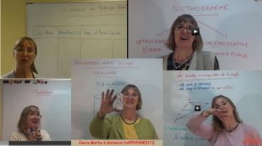 Ecole en ligne Bernadette Maths et Français