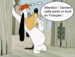 apprendre le français avec snoopy